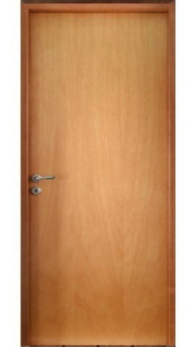 Puerta Oblak Placa Enchapada Nativa 70x200x10 Mm - Mar Del Plat