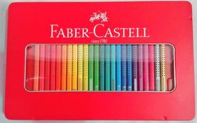 5c94c89a64 Estojo Faber Castell 48 Cores - Materiais Escolares no Mercado Livre ...