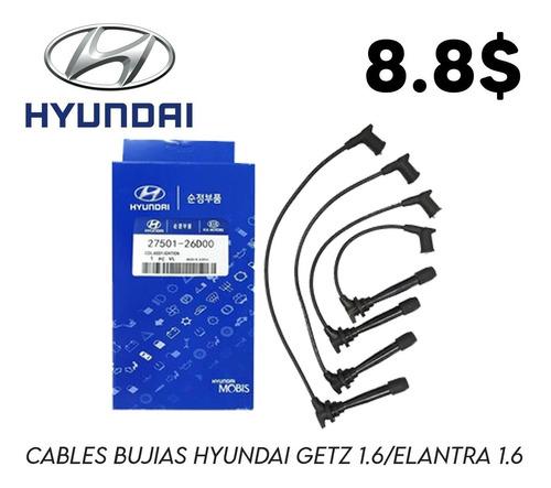 Cables Bujias Hyundai Getz Elantra 1.6 Somos Tienda 363324
