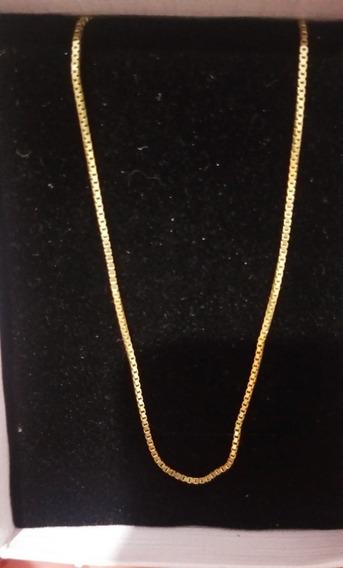 Corrente- 45cm Ouro 2.4g 18k