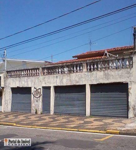 Casa Comercial À Venda, Vila Teixeira, Campinas. - Ca0240