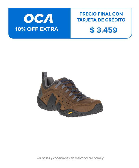 Hombre Merrell Intercept Dark Earth Hiking Y Trekking