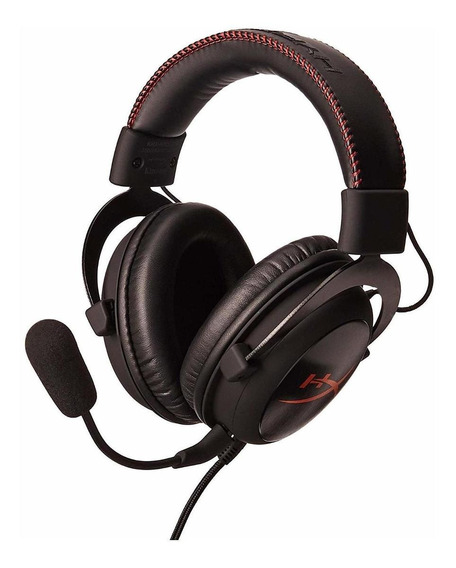 Fone de ouvido gamer HyperX Cloud preto