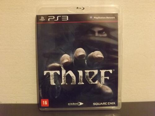 Imagem 1 de 9 de Ps3 Thief - Completo - Mídia Física...