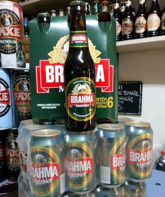 Envio A Domicilio De 1 Pack De Cerveza Negra Orig Brasil