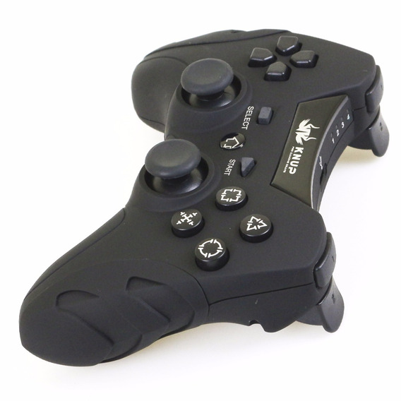 Controle Joystick Sem Wireless Fio Ps3 Playstation 3 Usb Pc