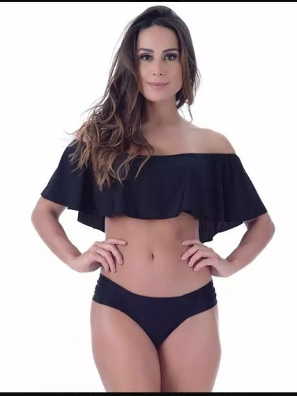 Biquini Cropped Ciganinha Top 2020