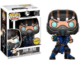 Funko Pop 251 Sub-zero - Mortal Combat Limited Chase Edition