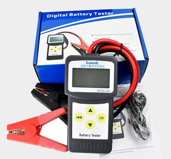 Teste De Bateria 12v Para Carro Lcd Digital Lancol Micro-200
