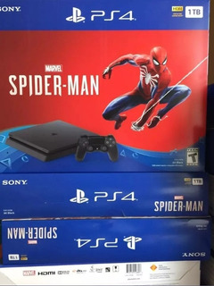 Playstation 4 Slim Spider-man 1tb Nuevo