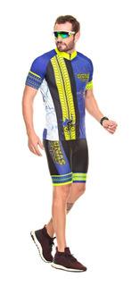 Conjunto Masculino Ciclismo ( Camisa Mc + Bermuda ) Dunas.