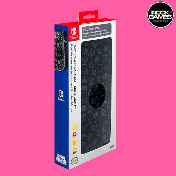 Case Capa Nintendo Switch Premium Mario Edition Novo Oficial