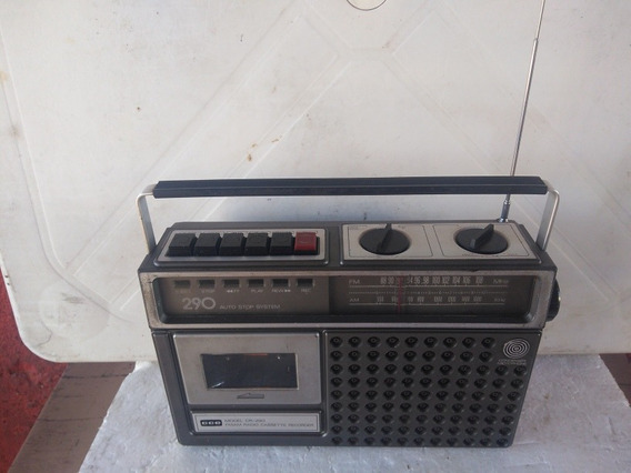 Rádio Gravador Cce Modelo 290
