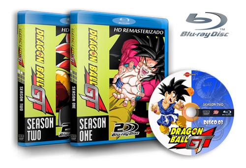 Dragon Ball Gt - Completo Dublado Em Blu-ray