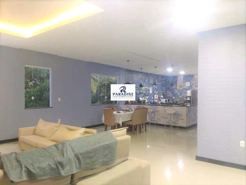 Casa Á Venda Em Jauá Cond. Fechado 3/4 - R$ 1.5 Mi, Cod: 68407 - V68407
