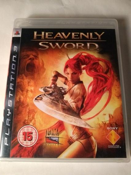 Heavenly Sword Ps3 Mídia Física Em Portugues