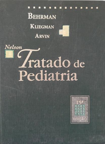 Livro Nelson Tratado De Pediatria - Behrman K. Arvin- Vol. 1