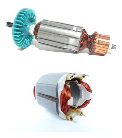 Induzido 220v + Bobina S. Circular Bosch 1546 Gks 7 1/4 New