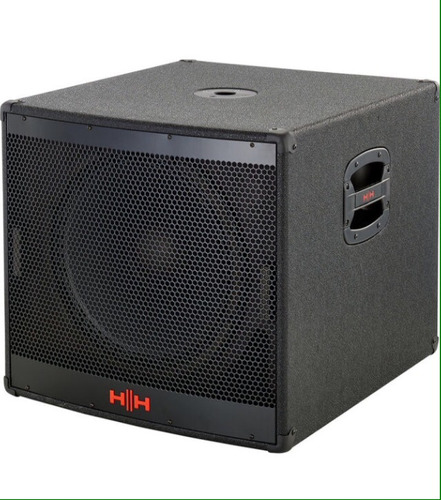 Subwoofer Amplificado 1000w Hh Vsr115 Bajo De 15