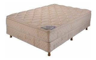 Sommier Con Colchon Belmo Dorado Con Euro Pillow 140x190