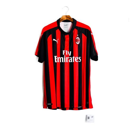 Camisa De Futebol Masculino Milan 2018/19 Puma