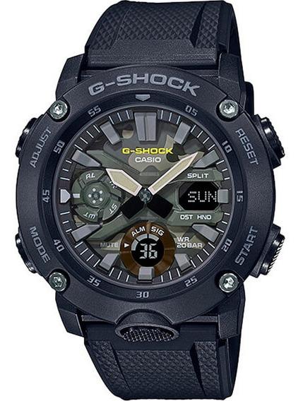 Relógio G-shock Ga 2000su Camuflado Preto Ga 2000 Original