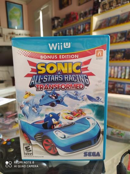 Sonic All Stars Racing Transformed Para Wii U