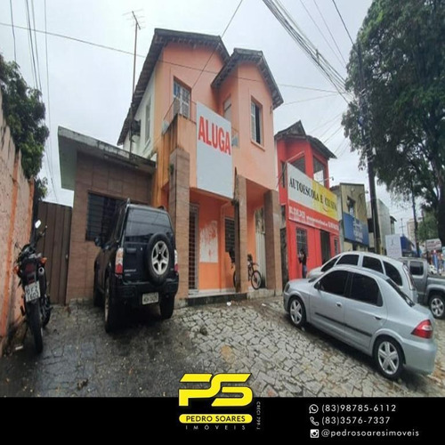 Imagem 1 de 14 de Ponto Para Alugar, 110 M² Por R$ 7.000/mês - Miramar - João Pessoa/pb Cod Pt0039 - Pt0039
