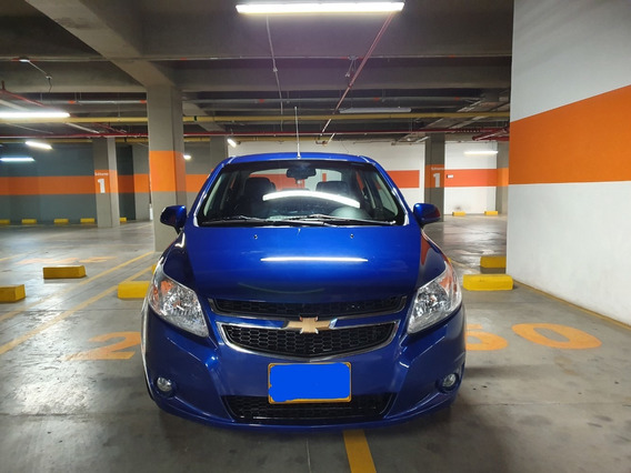 Chevrolet Sail Motor 1.4 2018 Azul Islandia 4 Puertas