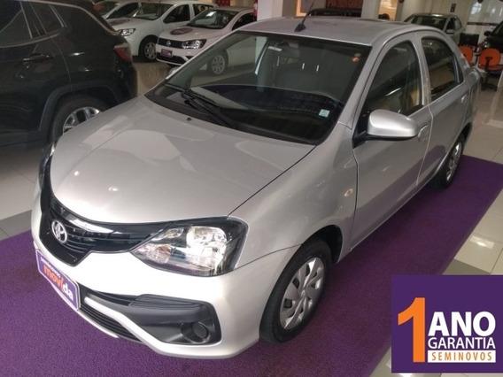 Etios 1.5 X Sedan 16v Flex 4p Manual 23149km