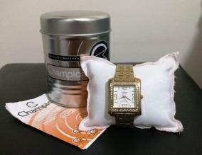Relógio Champion Feminino Passion Com Strass - Original