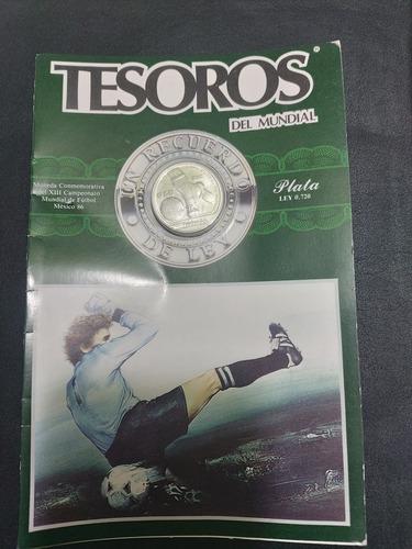 Imagen 1 de 4 de Monedas Mundial Mexico 1986 En Blister Original
