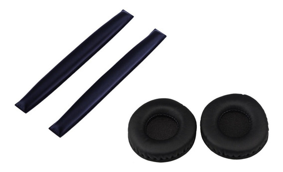 Kit Espumas + Headband Sennheiser Hd25 Hd25sp Pc150 Cabeça