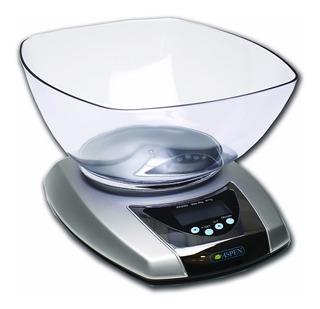 Balanza De Cocina Digital Aspen Ek3052 Pesa Solido, Liquido