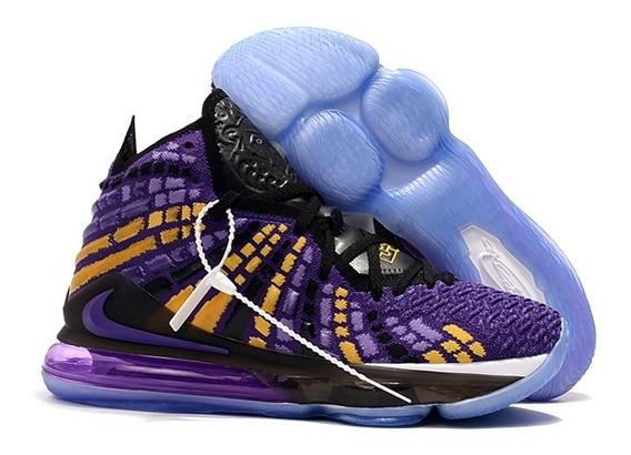 Tenis Nike Lebron 17 Na Caixa Frete Grátis Varias Cores