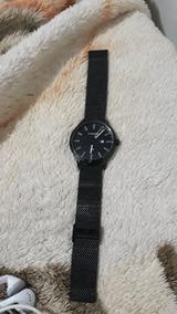 Relógio Lince Metal Preto