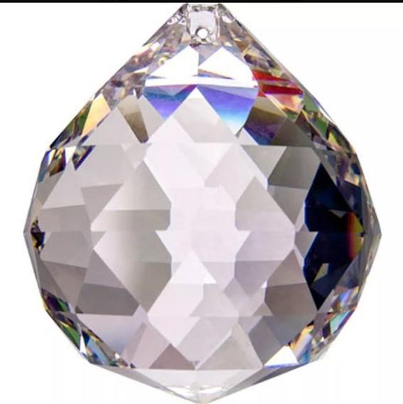 4 Esferas Cristal Asfour 40mm Feng Shui E Lustres