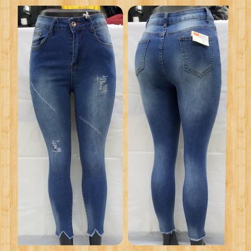 Pantalones Entubados Rotos Ropa Bolsas Y Calzado Para Mujer En Mercado Libre Mexico