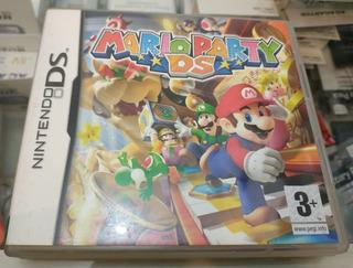 Mario Party Ds Único En Español Completo En Caja Con Manuale