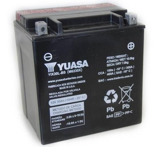 Bateria Yuasa Yix30l-bs Harley-daividson-fl/flh1340 Sel