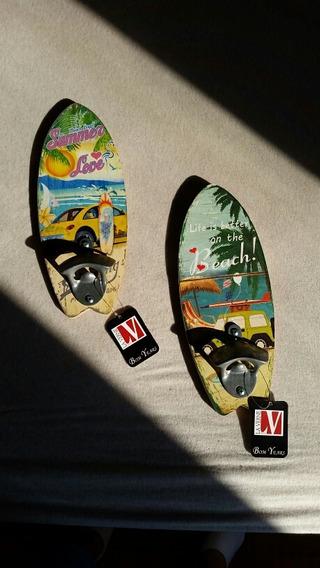 Abridor De Garrafa Prancha Surf Decoração