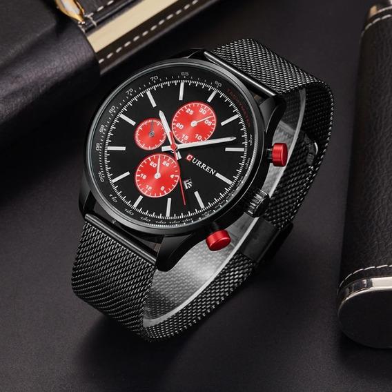 Relógio Masculino Aço Inoxidável Importado Super Promoção