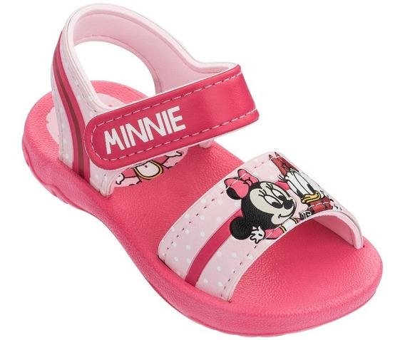 Sandalias Infantil Minnie Rosa Disney Cute Baby 17 Ao 27