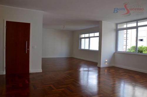Imagem 1 de 13 de Apartamento Com 3 Dormitórios À Venda, 235 M² Por R$ 2.650.000,00 - Higienópolis - São Paulo/sp - Ap0750