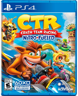 Crash Team Racing Nitro-fueled Ps4 Físico