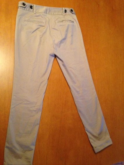 Pantalon Mujer Crema Marca: Zara Basic Talla:4 Usa. Eur: 36