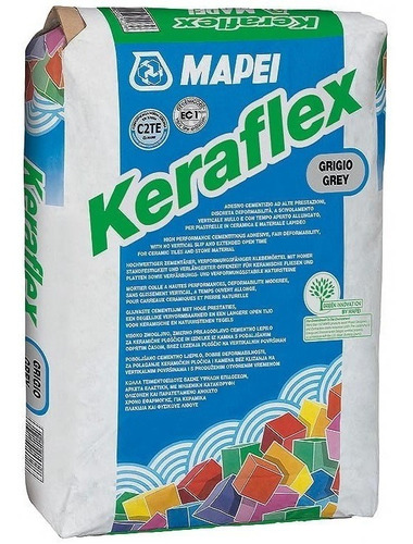 Pegamento Keraflex Grey 25kg Mapei