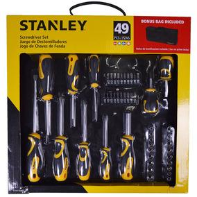Conjunto De Ferramentas Stht70887m Stanley 49 Peças