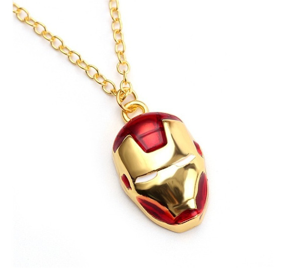 Collar Iron Man The Avengers Endgame Infinity War Marvel
