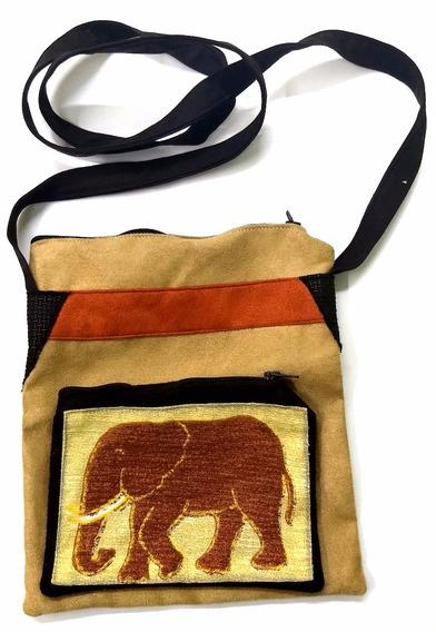 Bolsa Com 2 Zíperes-áfrica Do Sul Vestuário Feminino Acf021